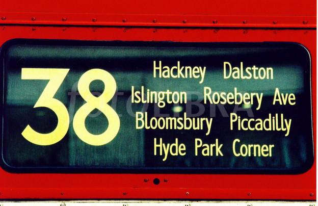 38 Bus London